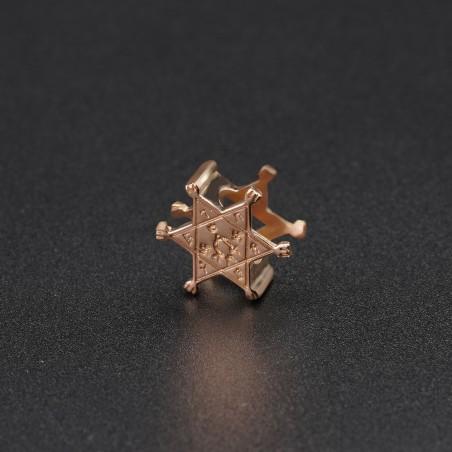 Золотой символ-подвеска №10