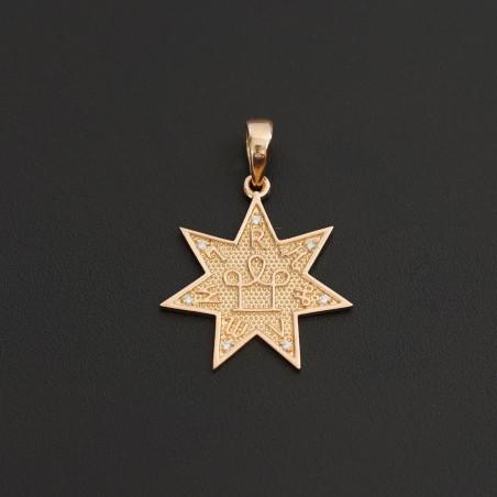 Талисман №15  с бриллиантами