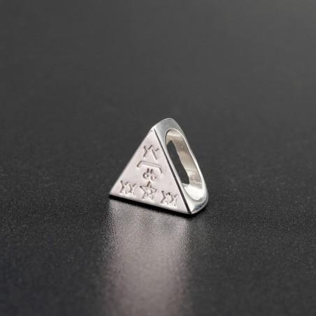Серебрянный символ-подвеска №6