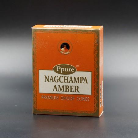 Конусы NAGCHAMPA AMBER CONES