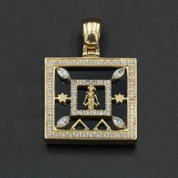 Золотой талисман «Ловушка для денег» №2