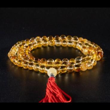 Четки янтарные желтые светлые