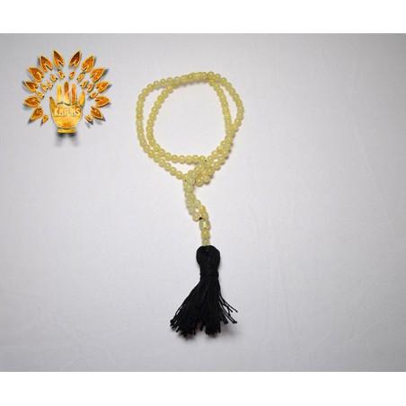 Четки янтарные, натуральные, профессиональные, 108 бусин №35