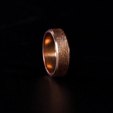 Кольцо эзотерическое медное